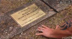 Rocco's grave