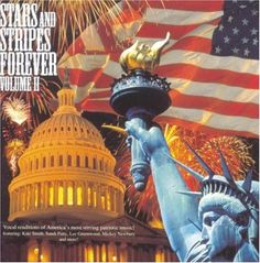 """A collection of great patriotic music from a wide variety of artists.  Includes Sandi Patty's version of """"The Star Spangled Banner"""" and Lee Goldwood singing his classic """"God Bless the USA."""""""