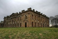 The abandoned mansion of Sutton Scarsdale Hall in Derbyshire was one of northern England's most magnificent stately homes before being asset...