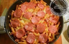 Inspiration italienne Archives – Au bout de la langue Pizza, Spaghetti, One Pot, Sausage, Ethnic Recipes, Foodies, Canada, Inspiration, Cauldron