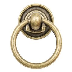 small 1 1 2 in antique brass ring pull paige pinterest brass