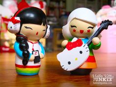 This is what happens when Hello Kitty and the cutest tokidoki characters are mashed up!
