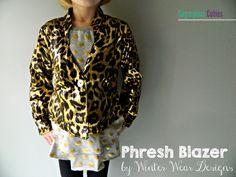 Sugarplum Cuties: Winter Wear Phresh Blazer