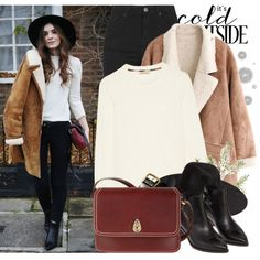 2094. Street Style by chocolatepumma on Polyvore featuring Burberry, Topshop, Chanel, Tula, Rodarte, Old Navy, Komar, StreetStyle,…