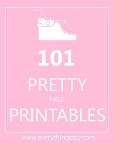 A Bit of Bees Knees: Beautiful Free Printables: Invites, Labes, Crafts etc.