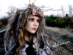 Wandering Willow Wisp  Wig  Example of by Absinthediaryquills, $99.99