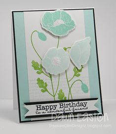Happy Birthday To A Wonderful Friend by TreasureOiler - Cards and Paper Crafts at Splitcoaststampers