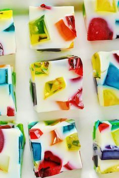 recipe: stained-glass jello squares