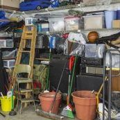 Tips for preparing to clean out a home and garage  after death