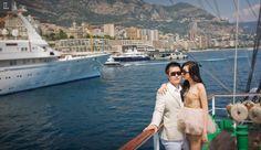 #prewedding #overseas #theleonardi #indraleonardi #golden #gown