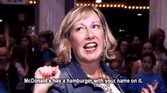 """While others choose to use the epic topic of fast food as an insult... 