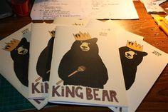 Zine-King Bear