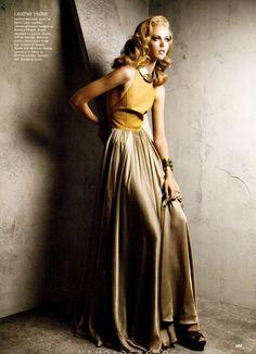 Frida Gustavsson by Patrick Demarchelier for Allure women fashion   2dayslook  new  longfashion 01c8109df