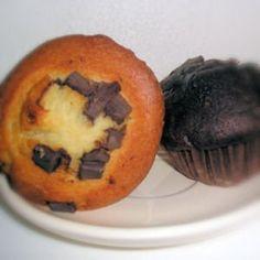 muffins vanille et chocolat sans gluten
