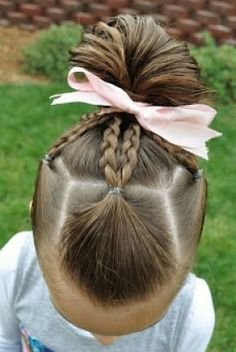 cool 8 Quick And Easy Little Girl Hairstyles - Pepino Haircuts