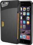 iPhone Wallet Case - Vault Slim Wallet for iPhone by Silk - Ultra Slim Protective Phone Cover (Midnight Black) Iphone 6 Wallet Case, Iphone 7, Apple Iphone, Iphone Cases, Slim Wallet, Vaulting, Card Case, Cell Phone Accessories, Silk