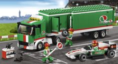 LEGO.com City Products - Great Vehicles - Grand Prix Truck