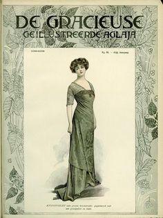 De Gracieuse December 1909, Edwardian Fashion Plate
