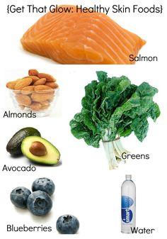 peace. love. & good food.: Get That Glow: Healthy Skin Foods
