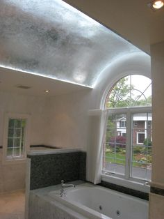 OPTION FOR ENTRY CEILING - SILVERLEAFING