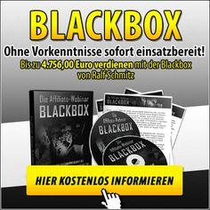Affiliate Webinar Blackbox-Passives Einkommen auf Knopfdruck