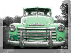 Old Chevy Pickup Truck Photograph  - Old Chevy Pickup Truck Fine Art Print