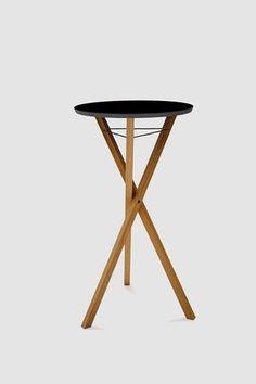 Stehtisch-Design-Meet and Greet-klappbar-schwarz Folding Furniture, Design Thinking, Office Interiors, Stool, Tables, Home Decor, Designer, Up, Lounge