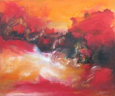 "Saatchi Online Artist Pingchuan Feng; Painting, ""Woeks02"" #art"