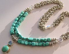 LOVE IT....Turquoise Beauty Necklace with Turquoise and by TruExpression, $60.00