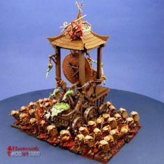 Warhammer: Eastern Themed Skaven Army