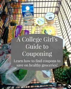 easy tips and tricks for saving money on groceries in college! (college girl's guide to couponing)Some easy tips and tricks for saving money on groceries in college! (college girl's guide to couponing) College Meals, College Hacks, College Life, College Cooking, College Food Budget, College Savings, School Hacks, Budgeting For College Students, Dorm Life Hacks