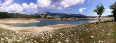 """""""Montagna Spaccata"""" lake near Alfedena (AQ)"""