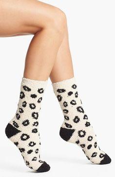 Fun leopard print socks $3.97 & Free Shipping! http://rstyle.me/n/e6zkvnyg6