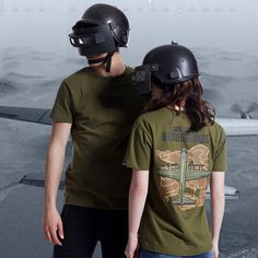 Playerunknownu0027S Battlegrounds Map T Shirt Pubg Army Green 3XL Tee Shirt
