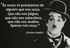 As mais belas frases de Charlie Chaplin para você refletir!