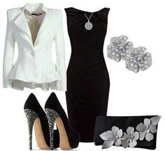 L9ve the dress and heels!
