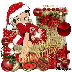 betty boop christmas - Google Search