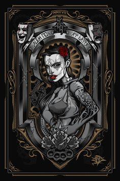 Pin up on Behance Canvas Wall Art Quotes, Chicano Art Tattoos, Aztecas Art, Warcraft Art, Skull Illustration, Evil Geniuses, Dope Art, Design Art, Azteca Tattoo