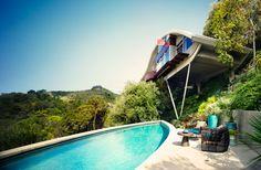 Un belvédère vintage à Los Angeles Réalisée par John Lautner en 1962, la Garcia House était un chef-d'œuvre en péril. Réhabilitée il y a quatre ans, elle est redevenue une maison à, très bien, vivre. Vintage et actuelle.