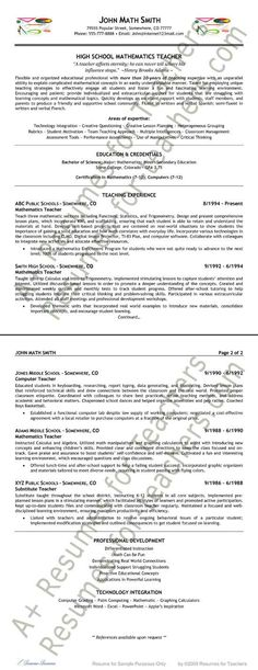 Art Teacher Resume Example Resume examples, Teacher and School - art teacher resume examples
