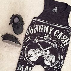 Hey, I found this really awesome Etsy listing at https://www.etsy.com/listing/227686188/upcycled-t-shirt-romper-johnny-cash-baby