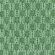 Knit Together   Textured Knitting Pattern 1, knitting pattern chart, Textured Stitches Patterns