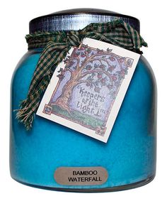 This Bamboo Waterfall Papa Jar Candle is perfect! #zulilyfinds