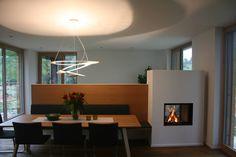 Durchsicht Heizkamin Gamlitz #fireplace #gamlitz