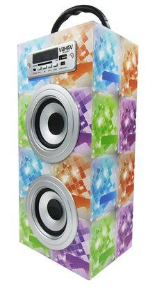 Altavoz Caja Portátil con Bluetooth, Radio, SD, USB, MP3, Inalámbrico y Con Batería Recargable 99619 - http://complementoideal.com/producto/altavoz-caja-portatil-con-bluetooth-radio-sd-usb-mp3-inalambrico-y-con-bateria-recargable-99619/  -  Altavoz Portátil Bluetoothcon el que podrás escuchar toda tu música sin necesidad de cables y en cualquier lugar, conecta todos tus dispositivos mediante la tecnologíaBluetooth fácilmente y comienza a divertirte. Altavo