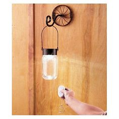 WALL-SCONCE-LIGHT-REMOTE-CONTROL-MASON-JAR-LIGHT-BATTERY-OPERATED-RUSTIC-CHARM