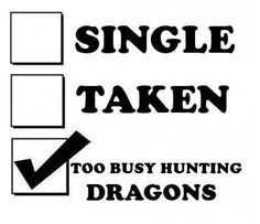 RPG it up my friends..those dragons won't be dying on their own.