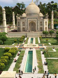 Taj Mahal. It is made from Lego @Legoland Malaysia
