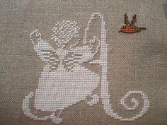 Cross Stitch Angels, Cross Stitch Bird, Cross Stitch Alphabet, Cross Stitch Designs, Cross Stitching, Cross Stitch Embroidery, Cross Stitch Patterns, Beaded Christmas Ornaments, Christmas Cross