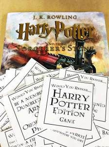 I'm working on a Harry Potter character party template for our library (we currently have character parties for Geronimo Stilton, Fancy Nancy and Percy Jackson, among others). While researchi…
